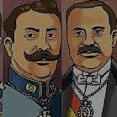 Gobiernos liberales (1899- 1920) timeline