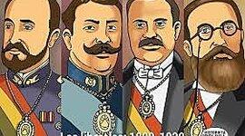Gobiernos Liberales (1899 - 1920). timeline