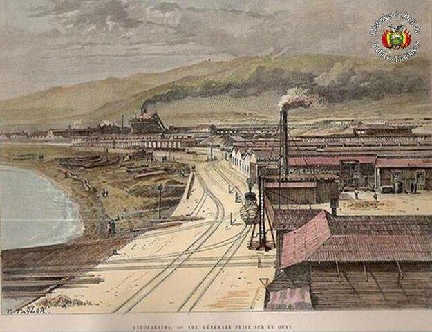 """""""Salitres y Ferrocarril de Antofagasta"""""""