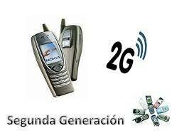 """2 Generación """"2G"""""""