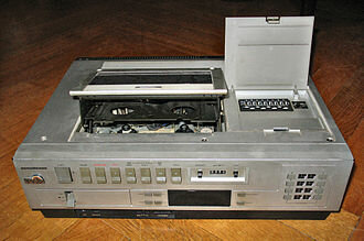 Primer videograbador doméstico.