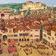 Ciudad europea medieval 8348
