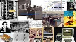 Dispositivos mecánicos y electromecánicos de cálculo y Generación de computadoras timeline