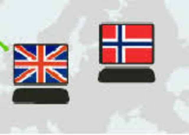 Noruega e Inglaterra se unen a Internet con un ordenador cada una
