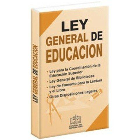 1994 La ley general de la educación
