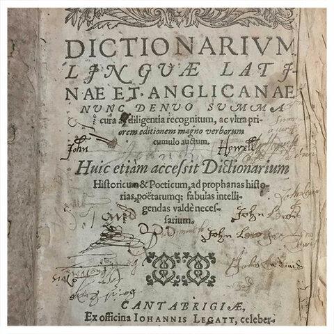 Латинско-английский словарь