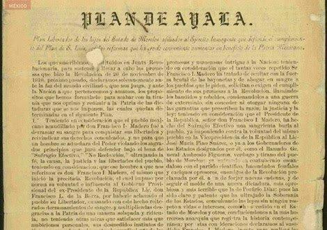 Promulgated the Plan of Ayala