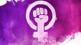 Mujeres feministas.  timeline