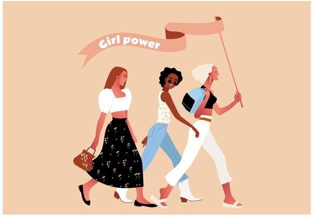 Movimiento del feminismo radical.