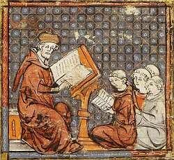El II concilio de Toledo.