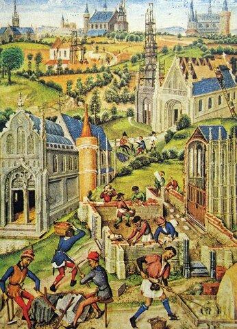 Reconstruyen las parroquias rurales tras la invasión.