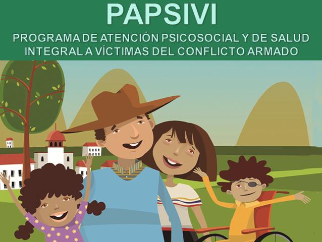ley 1448 del 2011 PAPSIVE