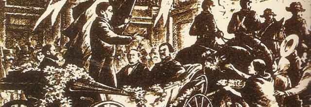 Benito Juárez entra a la Ciudad de México