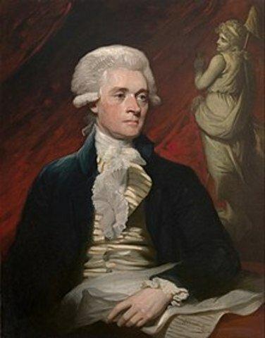 Thomas Jefferson Primero en utilizar el término RRPP