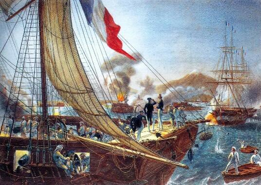 España, Francia e Inglaterra envían flotas
