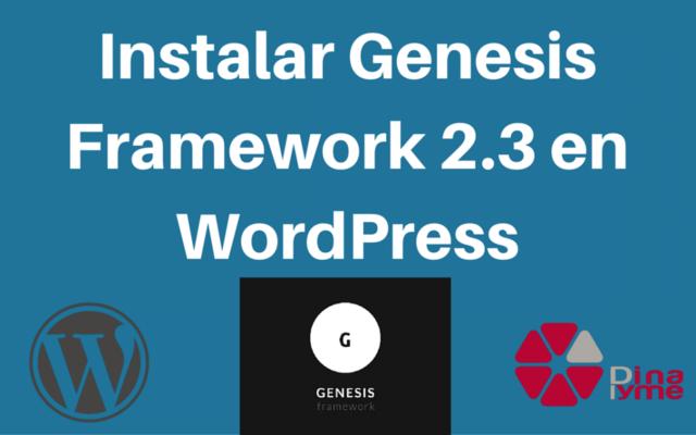 v 2.3 de WordPress