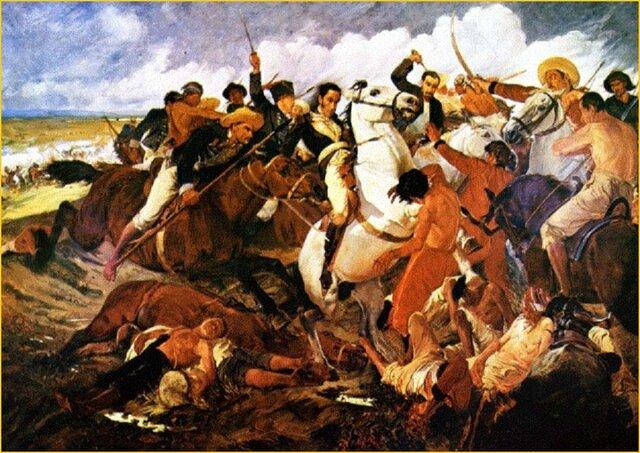 Guerras representadas por la tradición y la religión
