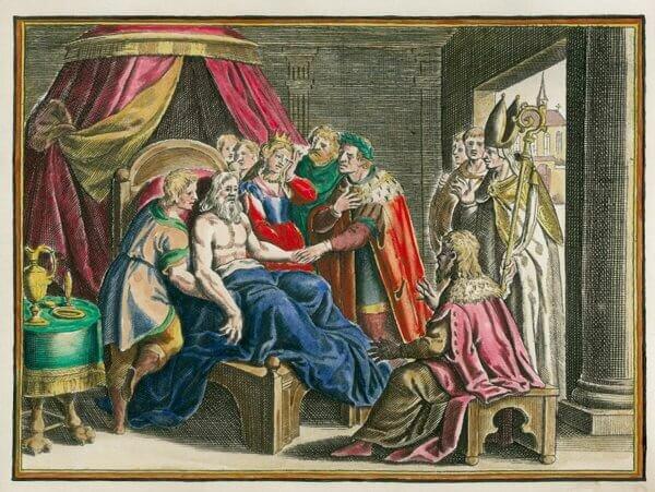 Muerte de Carlomagno.