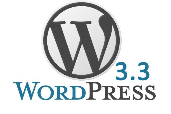 v 3.3 de WordPress