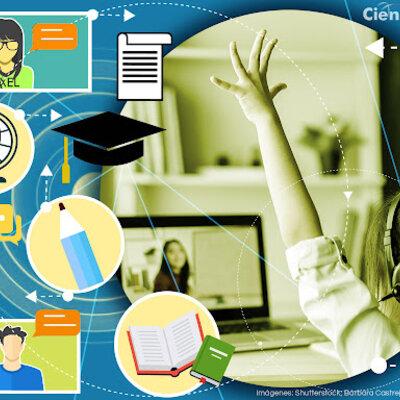 La evolución de las tecnologías en la educación timeline