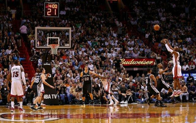 Llegada de la linea de los 3 puntos a la NBA