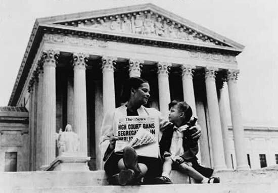1954 - Brown v. Board of Education