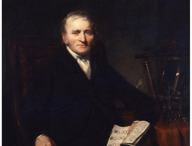 Dalton's Atomic Theory by John Dalton (1766 - 1844)