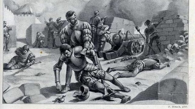 Herido en combate