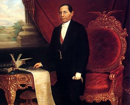 Inicio de la presidencia de Benito Juárez