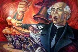 El grito de Miguel Hidalgo en el pueblo de Dolores