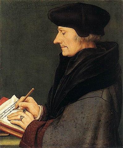 Personajes del humanismo renacentista: Erasmo de Rotterdam (1469 - 1536)