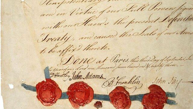The Treaty Of Paris