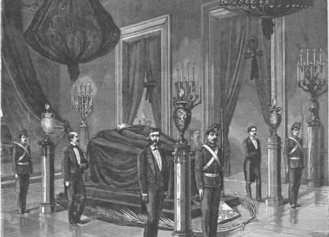 Fallecimiento de Benito Juárez