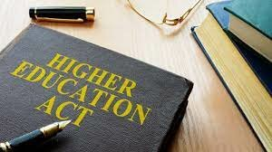 1998  - The Higher Education ACT -  Amends the Higher Education Act of 1965
