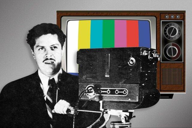Invención de la televisión a color