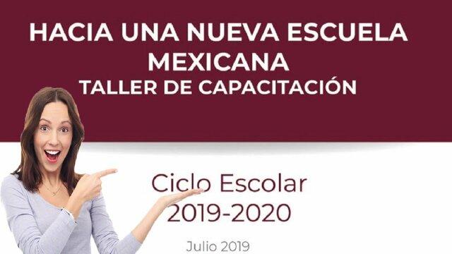 Nueva escuela mexicana.