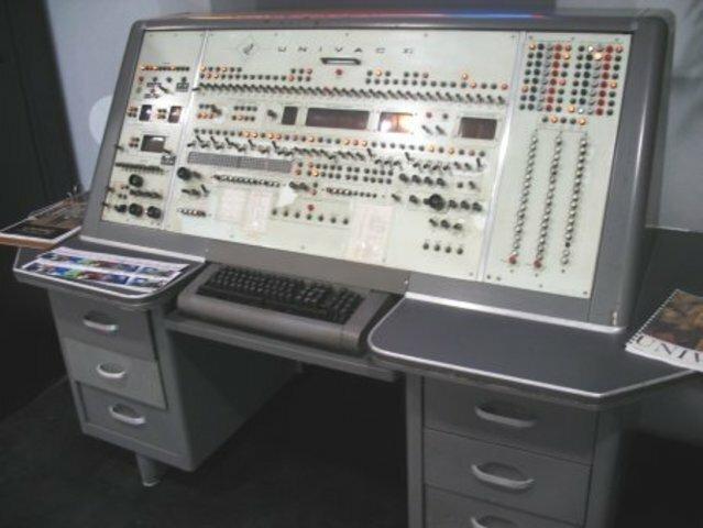 Un nuevo computador, al que llamaron UNIVAC
