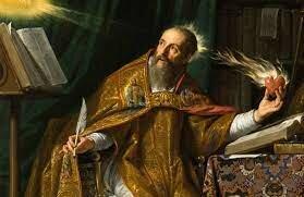San Agustín fue consagrado Obispo de Hipona.