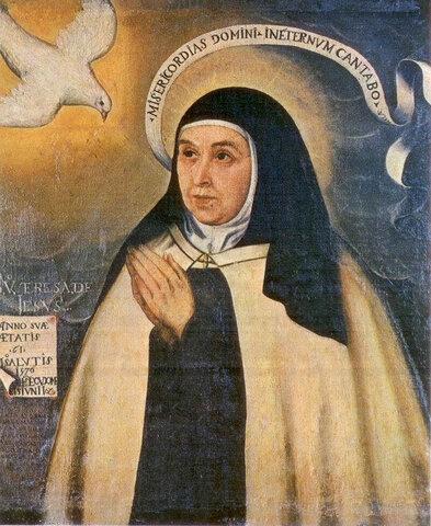 SANTA TERESA DE JESUS 1515-1582