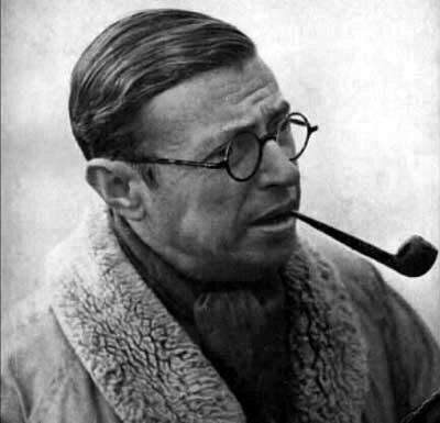 Personajes humanismo exótico Jean Paul Sartre, 1905