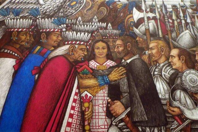 Alianza Españoles y Tlaxcaltecas
