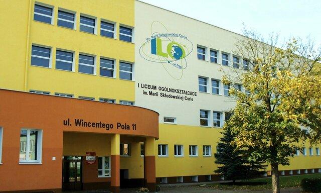 Rozpoczęcie nauki w 1LO im. Marii Skłodowskiej-Curie w Pile
