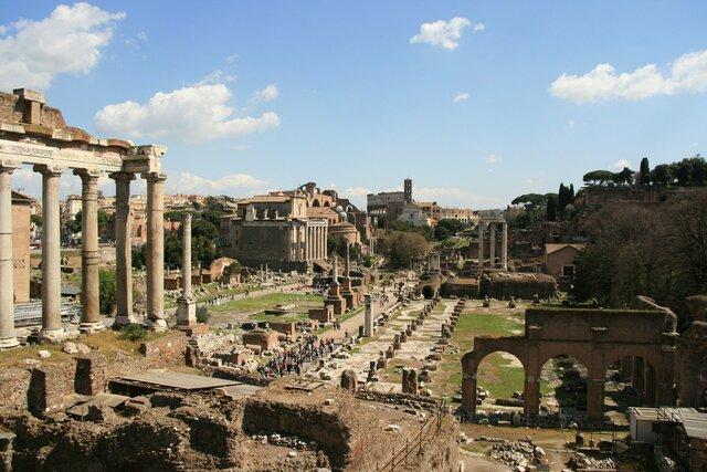Los godos de Alarico saquean Roma