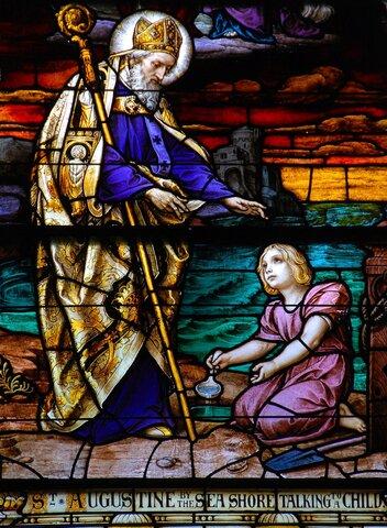San Agustín es consagrado obispo de Hipona