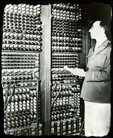 El ENIAC.