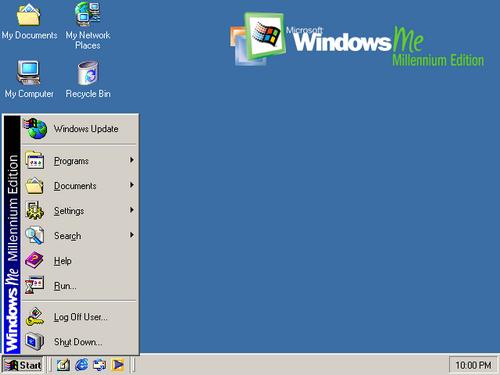 Windows Me - Millenium Edition