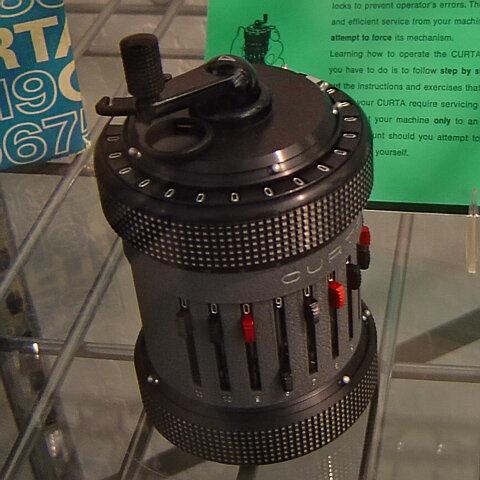 Se inventó la calculadora de CURTA