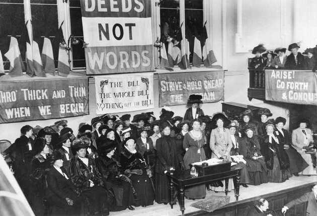 Start of the suffrage movement