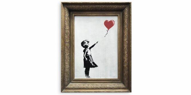 S´autodestrueix un quadre de Banksy (cultural)