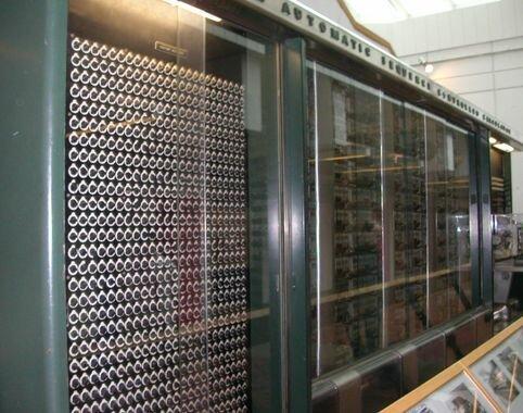 Creación del primer ordenador electro-mecánico (MARK I)